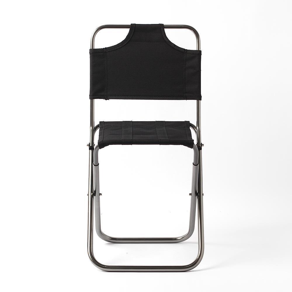 등받이 미니 캠핑용 의자 체어 스포츠 레저 피크닉