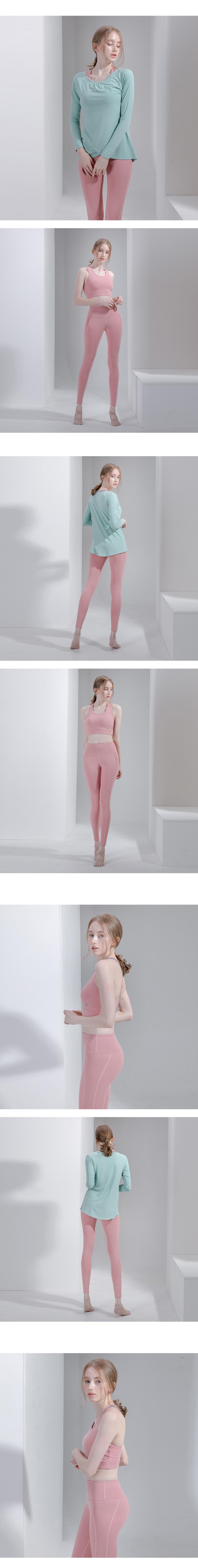 뒤란(DURAN) 루사 쉐이퍼 코렉티브 레깅스 DYW-PL4052 핑크