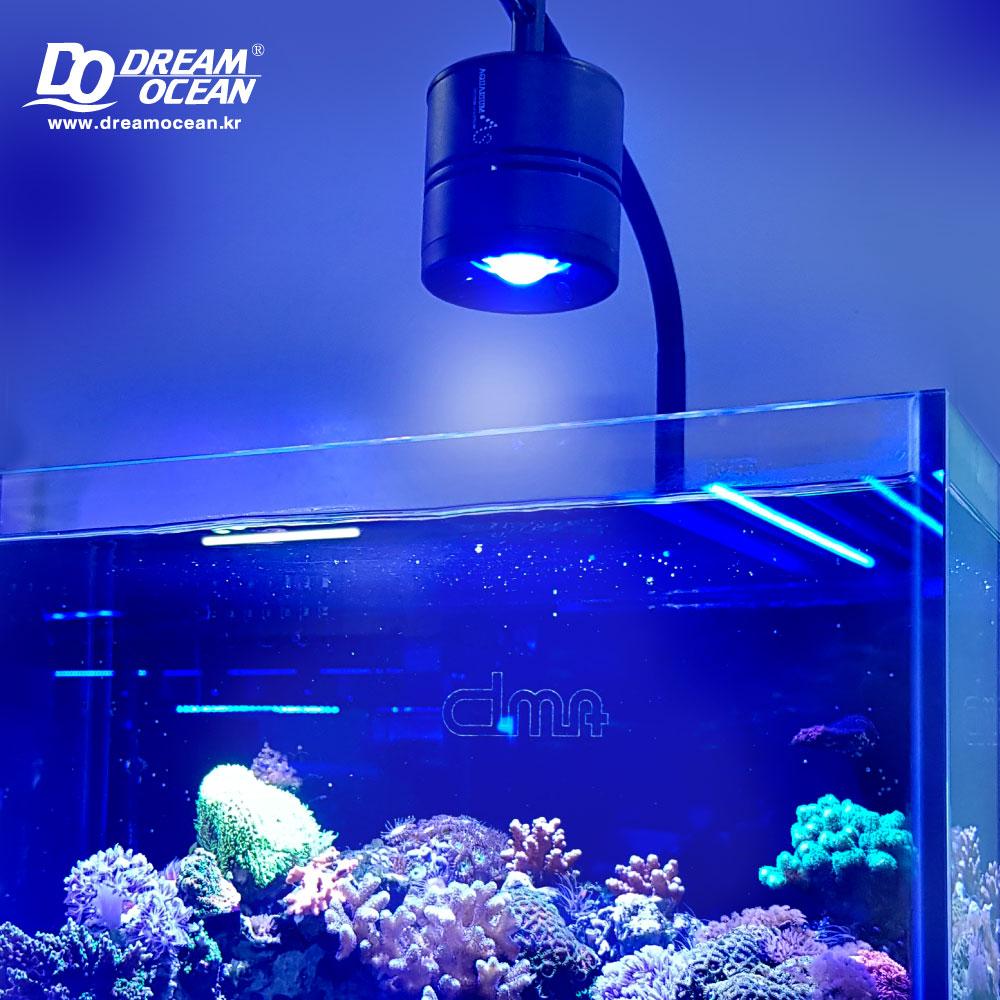 AS 새틀라이트 LED LAMP (BW/25w) 해수 어항 조명 등