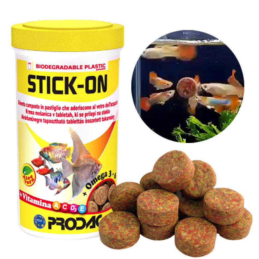 프로닥 스틱온60g (유리에 붙이는 물고기사료)