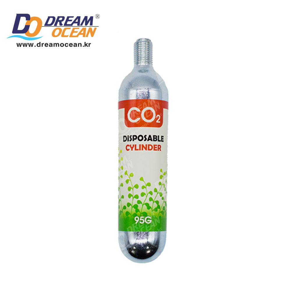 리오 CO2 이산화탄소 리필용 실린더 95g