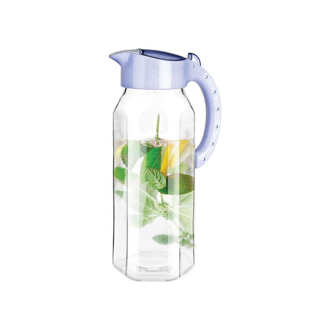 티티즈 유리물병 1500ml (바이올렛)/냉장고 물통 보틀