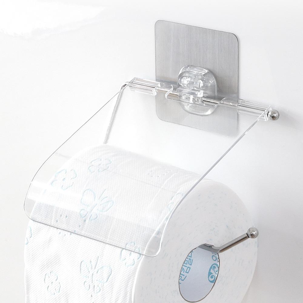 접착식 휴지걸이/욕실 휴지케이스 화장지걸이 화장실
