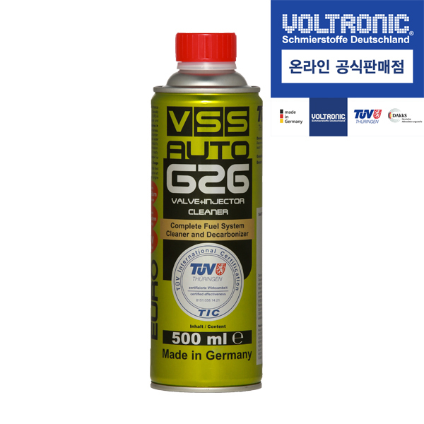 VSS AUTO G26 (가솔린 연료첨가제)밸브인젝터크리너 500ml
