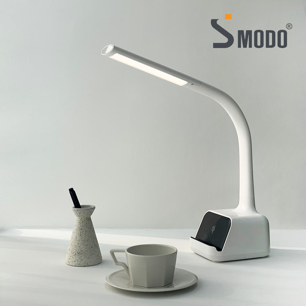 [에스모도] 고속 무선충전 거치대 LED 스탠드 SMODO-910