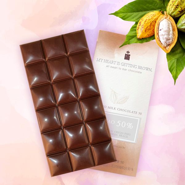 마스코바도 밀크 초콜렛