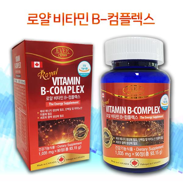 에버그린 로얄 비타민B 컴플렉스 1,200mg x 180캡슐