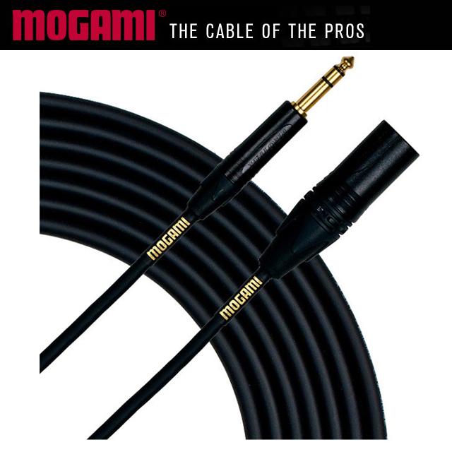 MOGAMI Gold 1/4 Balanced - XLR Male 모가미 오디오 케이블