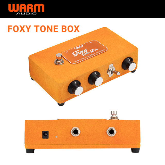 Warm Audio WA-FTB Foxy Tone Box 퍼즈 기타 이펙트 페달