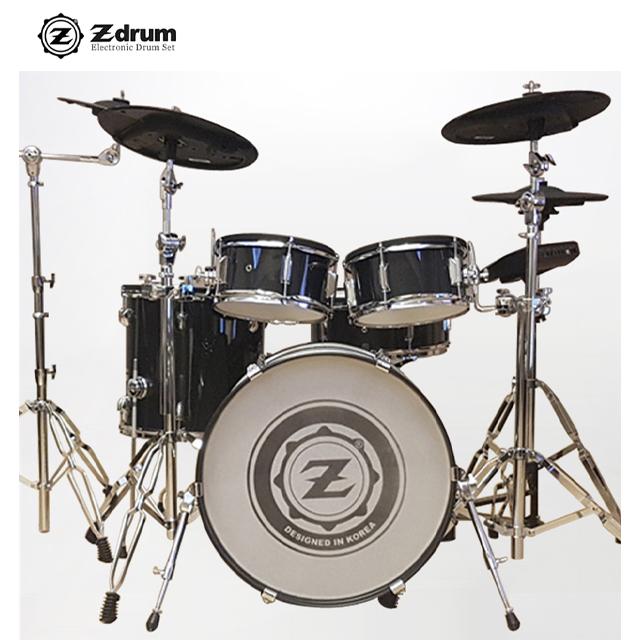 Z드럼 V30 올메쉬 전자드럼 [추가심벌+페달+의자+헤드폰+드럼스틱포함]