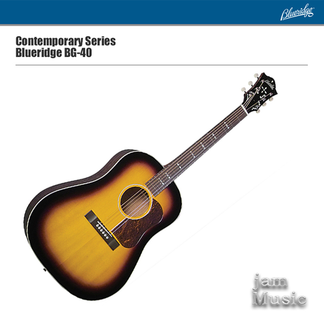 Blueridge 블루릿지 BG-40 탑솔리드 기타