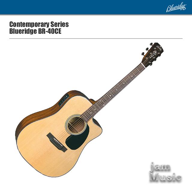 Blueridge 블루릿지 BR-40CE 탑솔리드 기타