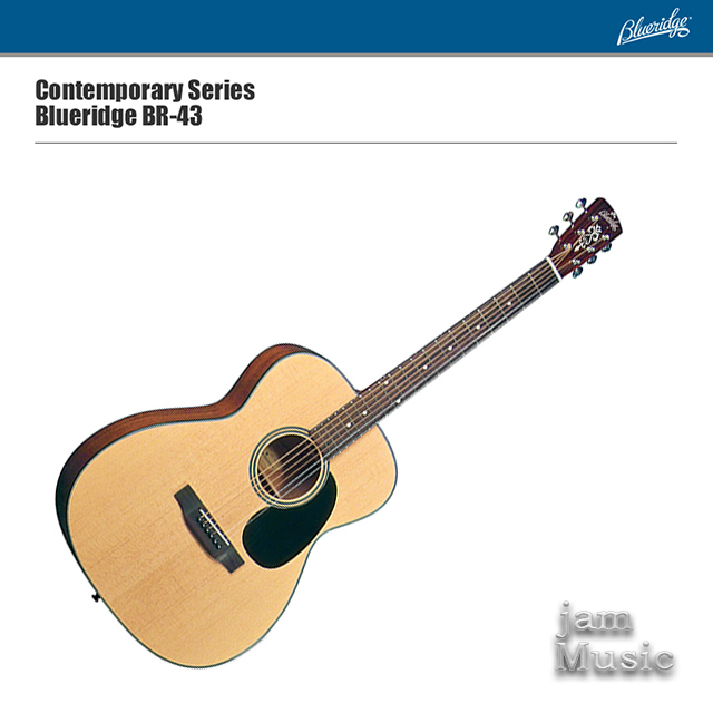 Blueridge 블루릿지 BR-43 탑솔리드 기타