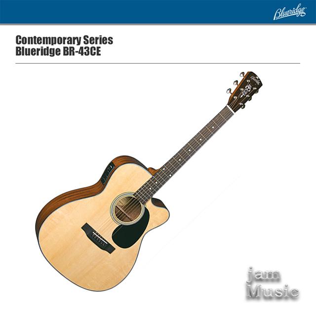 Blueridge 블루릿지 BR-43CE 탑솔리드 기타