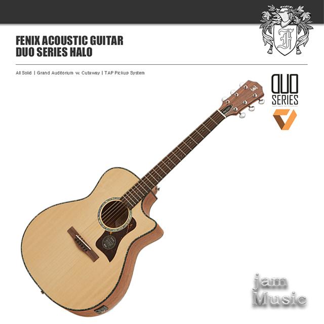 Fenix 어커스틱 기타 듀오 올솔리드 Duo Halo