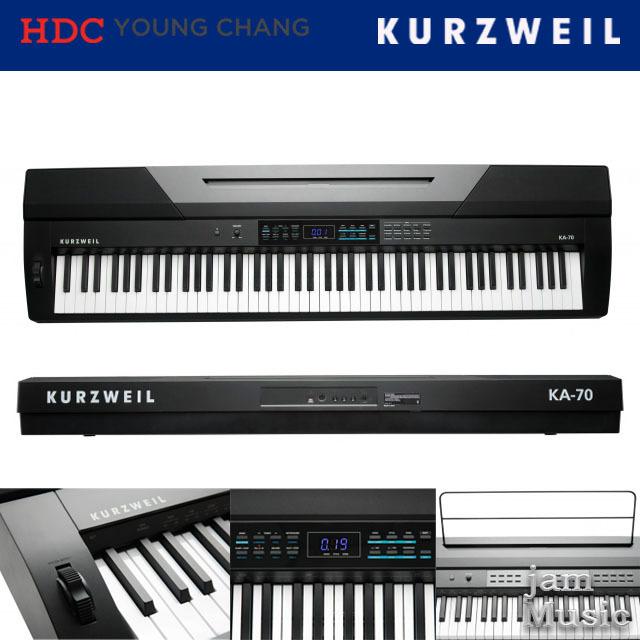 커즈와일 88건반 포터블 디지털 피아노 KA70