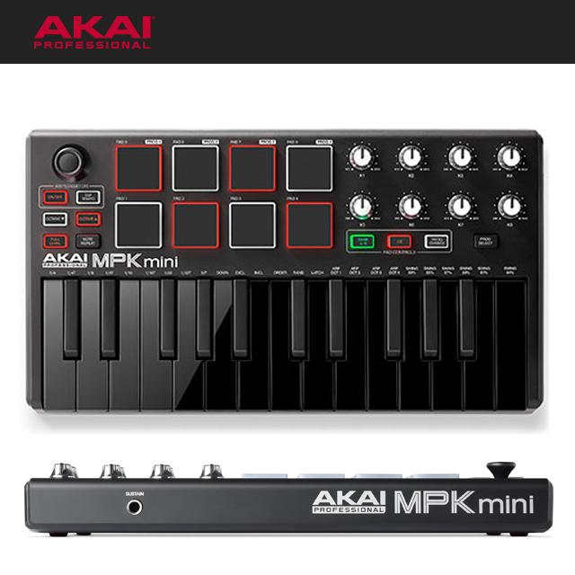 AKAI MPK Mini MK2 Black 아카이 엠피케이미니2 블랙