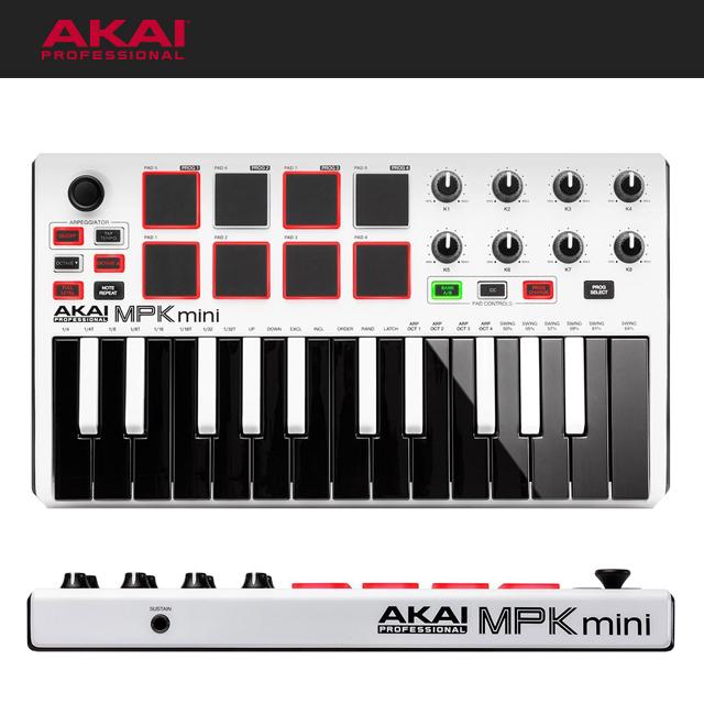 AKAI MPK Mini MK2 White 아카이 엠피케이미니2 화이트