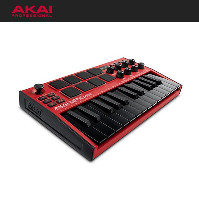 AKAI MPK Mini MK3 RED 아카이 엠피케이미니3 레드(한정판, 1/20 입고예정)