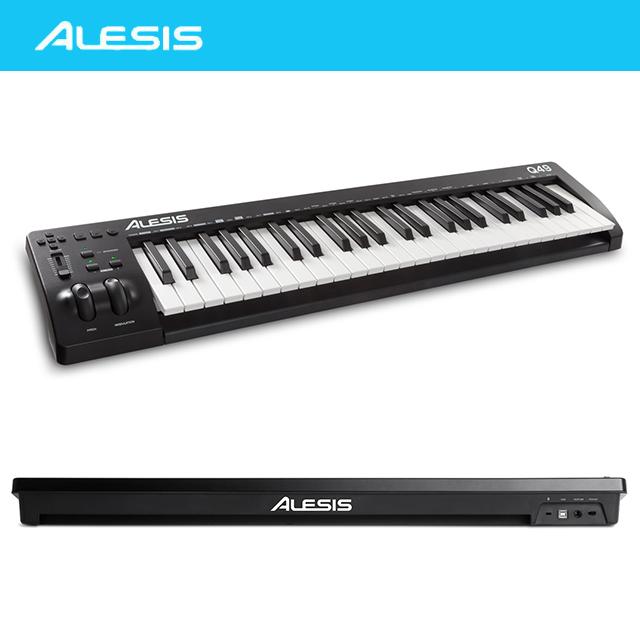 ALESIS 알레시스 Q49 MK2 - 49건반 USB 미디 컨트롤러