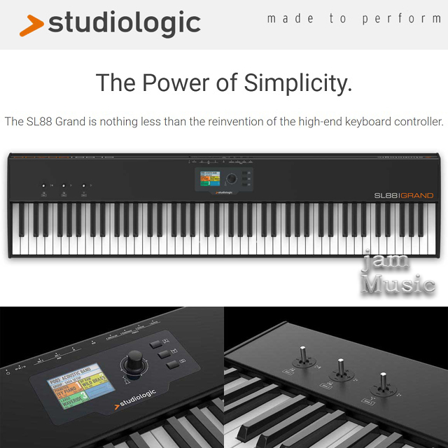 (Studiologic 공식대리점) 이태리 파타 스튜디오로직 최고의 마스터건반 SL88Grand