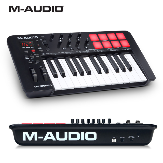 M-Audio Oxygen 25 MKV(5세대) 앰오디오 옥시젠 25