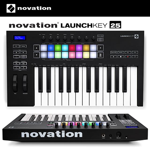 Novation Launchkey 25 MK3 노베이션 런치키 25 25건반 마스터키보드