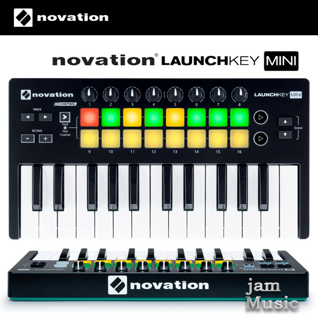 Novation Launchkey Mini 노베이션 런치키 미니 25건반 마스터키보드