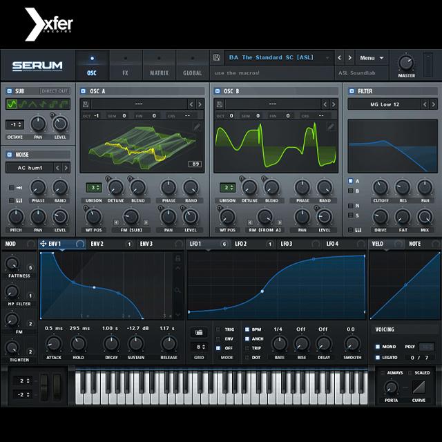 [Xfer records] Serum 웨이브테이블 신디사이저