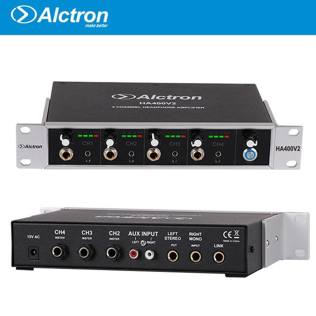 Alctron 4채널 헤드폰앰프 HA400V2