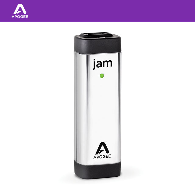 APOGEE JAM 96K / 1 Channel A/D Guitar Interface for iPad & Mac / 1채널 기타 인터페이스