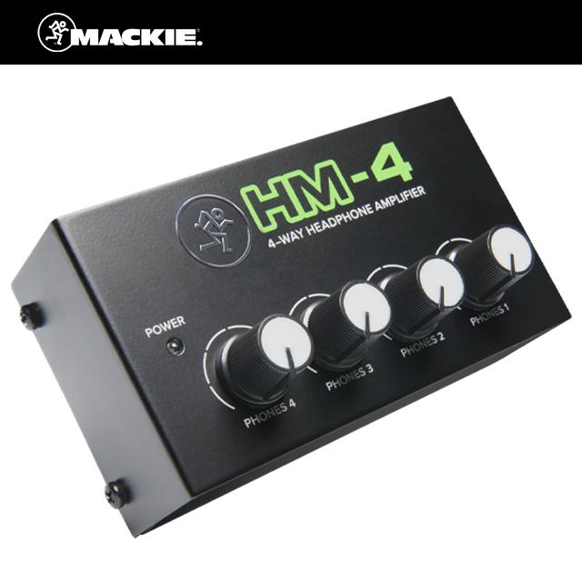 Mackie HM4 4채널 헤드폰 앰프