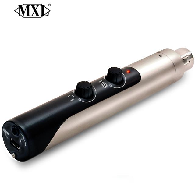 MXL Mic Mate Pro XLR-USB 마이크 어댑터