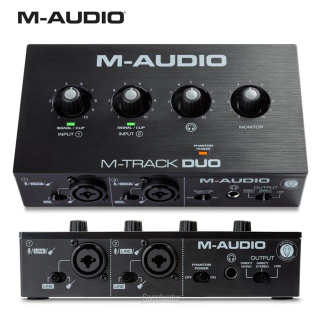 M-Audio M-Track Duo 엠트랙듀오