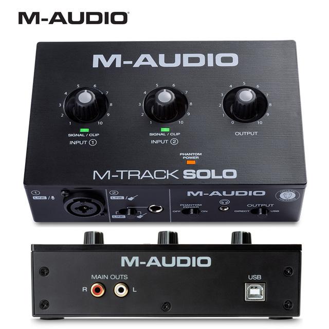 M-Audio M-Track Solo 엠트랙솔로