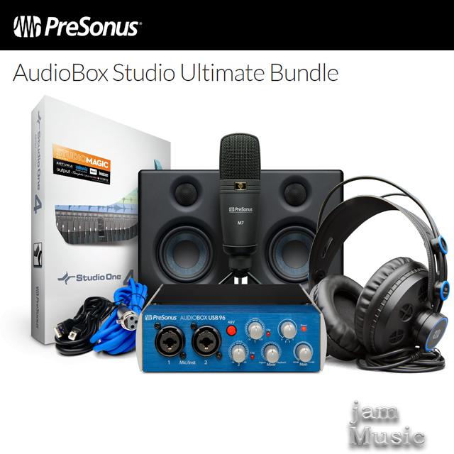 Presonus Audiobox Stuio Ultimate Package 오디오인터페이스 레코딩 패키지