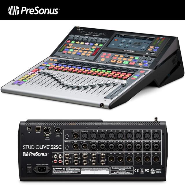 PRESONUS StudioLive 32SC / 32채널 디지털 믹서 & USB 인터페이스