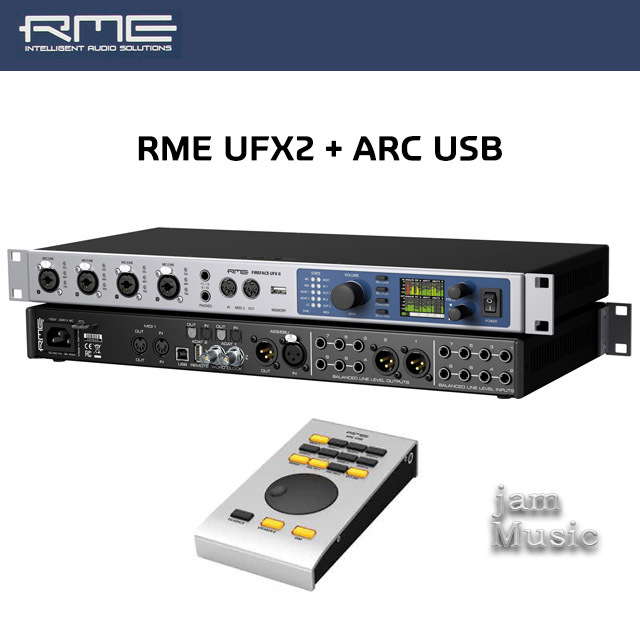 RME Fireface UFX2 (ARC USB번들) RME UFX Ⅱ