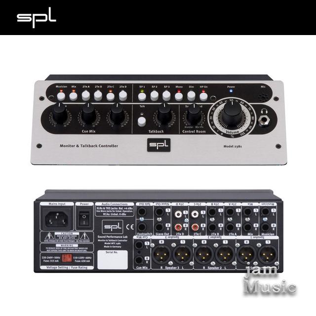 SPL MTC2381 스튜디오 모니터 토크백컨트롤러