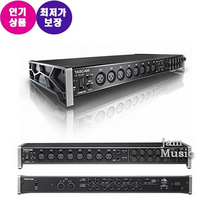Tascam US 16X08 US1608 오디오인터페이스