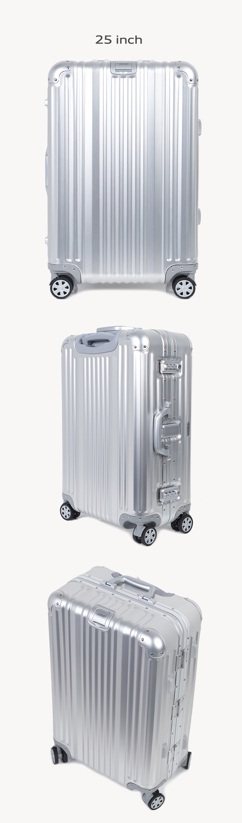 클렙튼 풀메탈 알루미늄 여행용캐리어 18인치