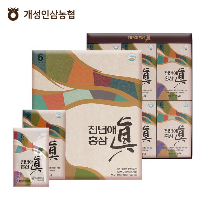 농협 천년애홍삼진 70ml X 30포 [A0106]