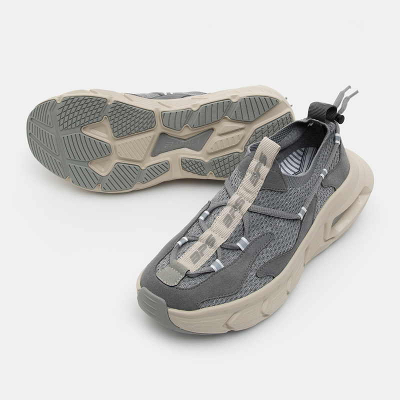 빈폴 스포츠(BEANPOLE SPORT) [BPS X CRITIC] 19FW BOUNCER CRT Runner(Knit)_Vintage gray