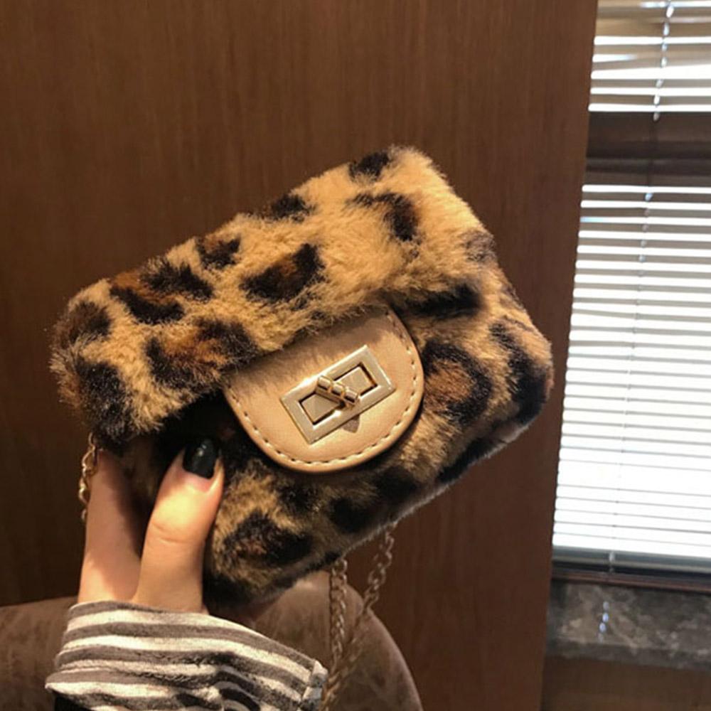 [BAG]레오파드 퍼 미니백(1주일 지연)