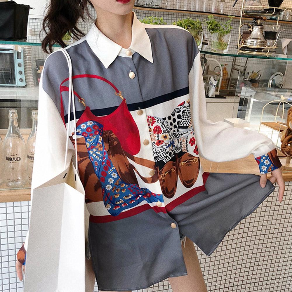간지나는 박시 셔츠/drnb-g42c92