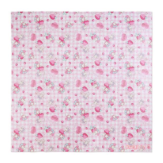 마이멜로디마이멜로디 피크닉매트(핑크체크딸기) 180cmX180cm(일) 돗자리