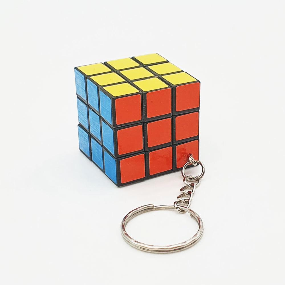 큐브 열쇠고리