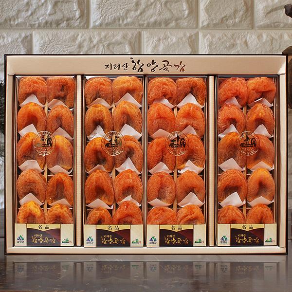 지리산 고종시곶감 선물세트(명품1호)2kg이상(40개/개당50~60g)이식사