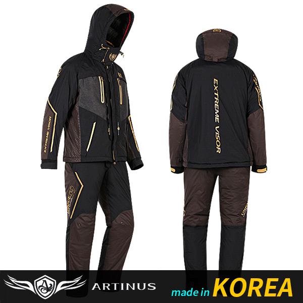 ((아티누스)) 웜라이트 동계 낚시복 AR-962
