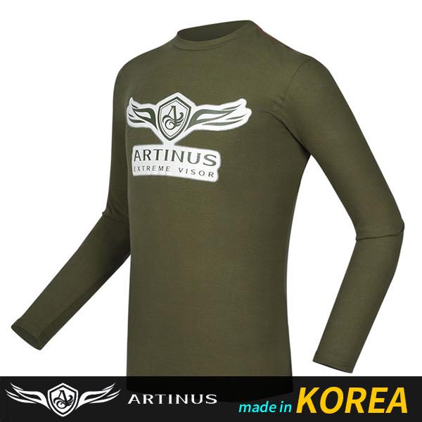 아티누스/ 로고스프레드티셔츠 AT-691K